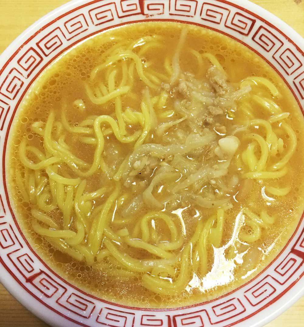 セブンイレブン冷凍食品「具付き味噌ラーメン」中身